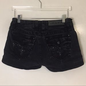 Rock Revival Celine black shorts. Size 30